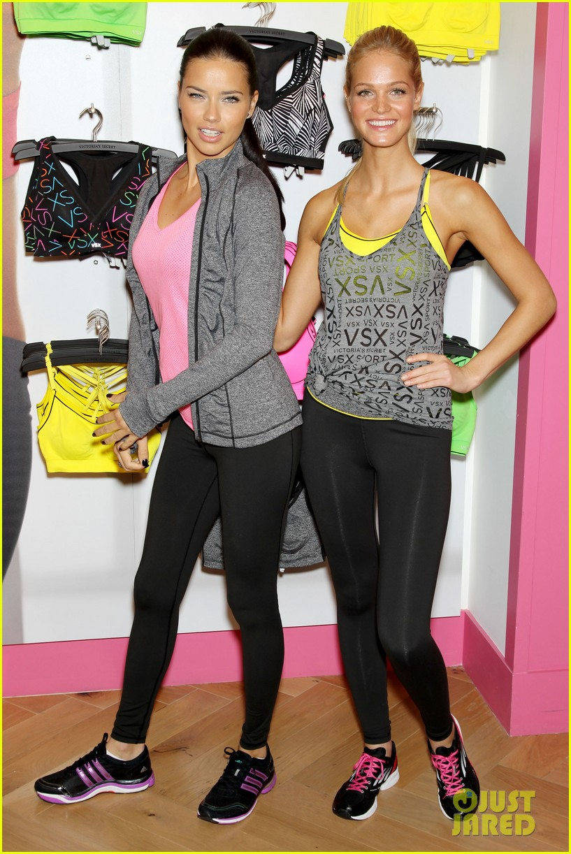 erin heatherton adriana lima victorias secret sport healthy year launch 262792751