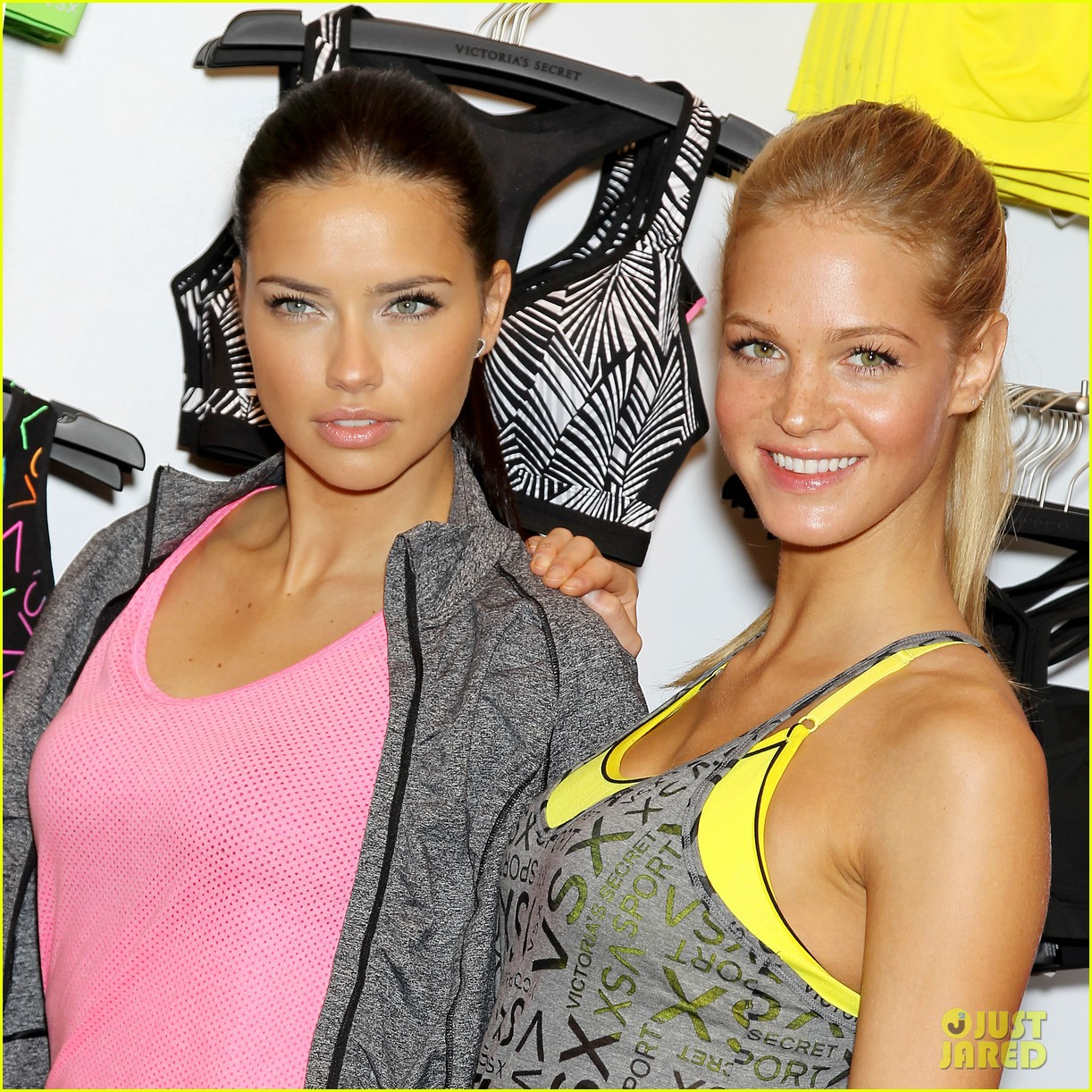 erin heatherton adriana lima victorias secret sport healthy year launch 29