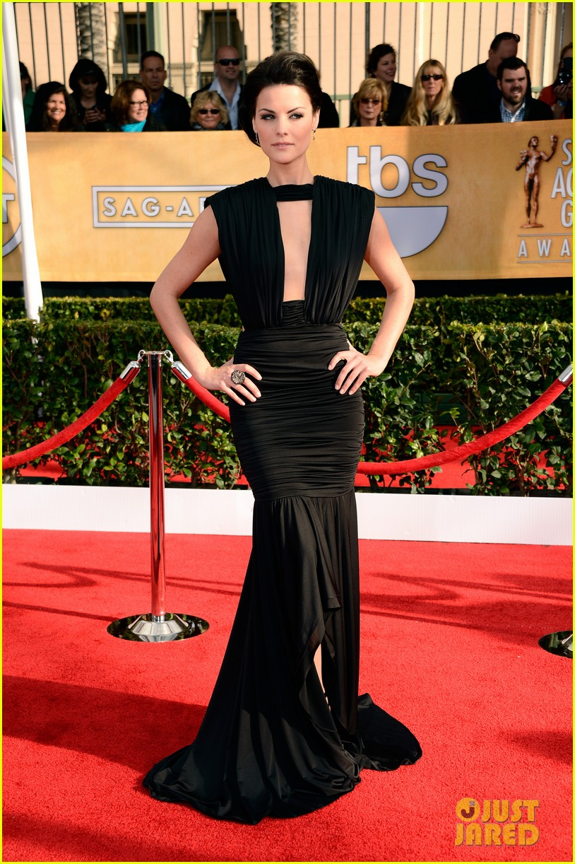 Jaimie Alexander & Peter Facinelli - SAG Awards 2013 Red Carpet