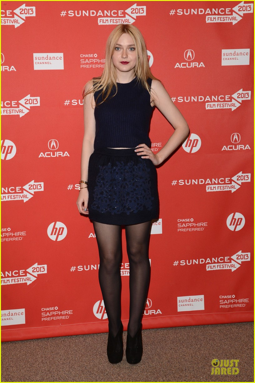 dakota fanning very good girls sundance premiere 032797008