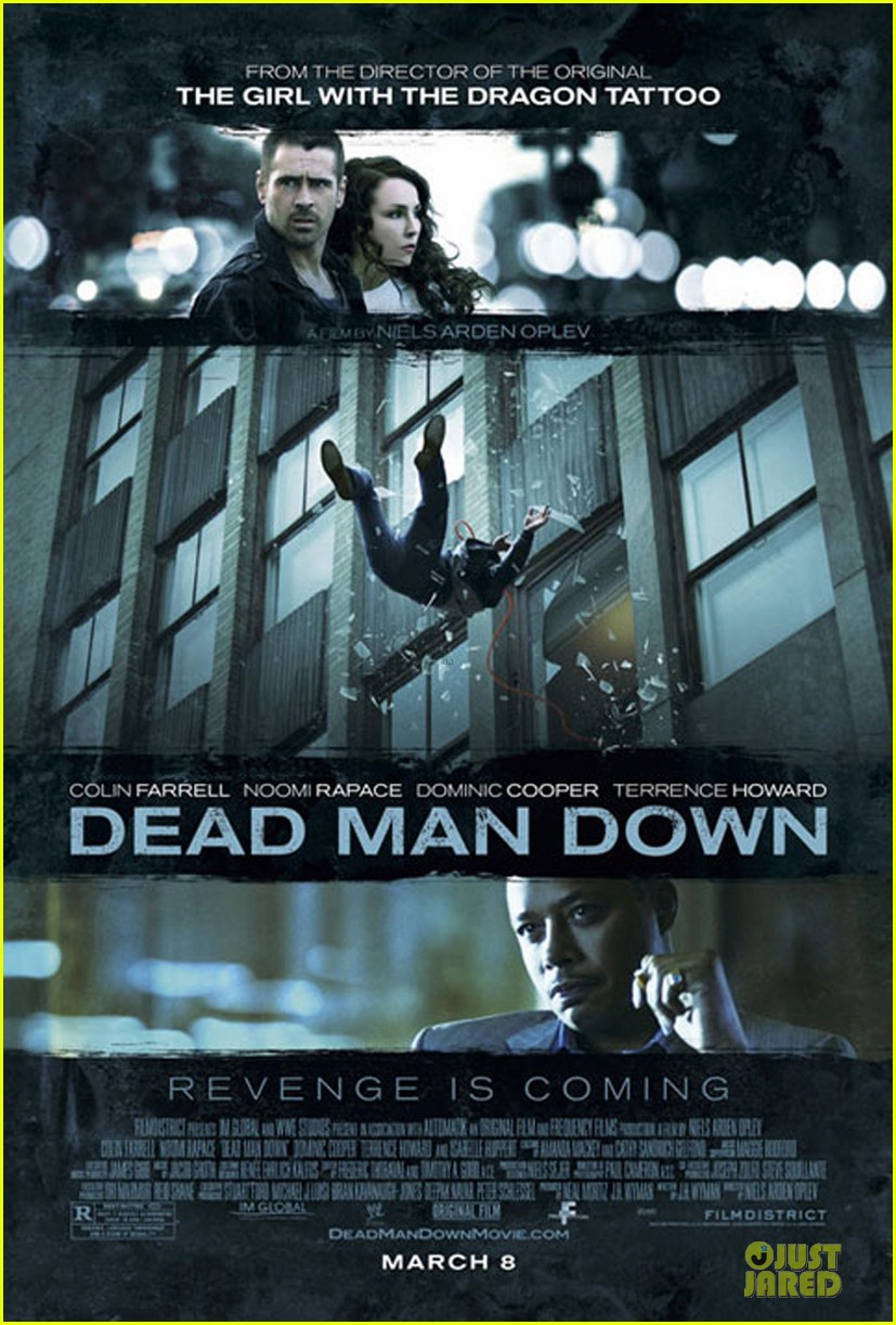 colin farrell newly released dead man down poster 052793025