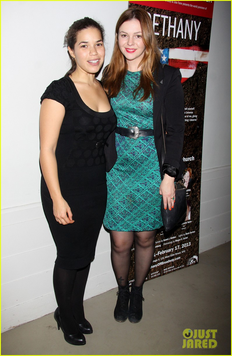 america ferrera amber tamblyn bethany after premiere party 12