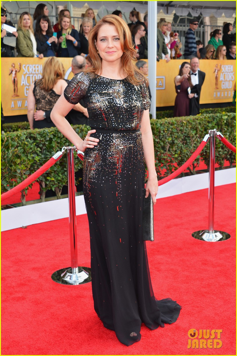 jenna fischer ellie kemper sag awards 2013 red carpet 052799939