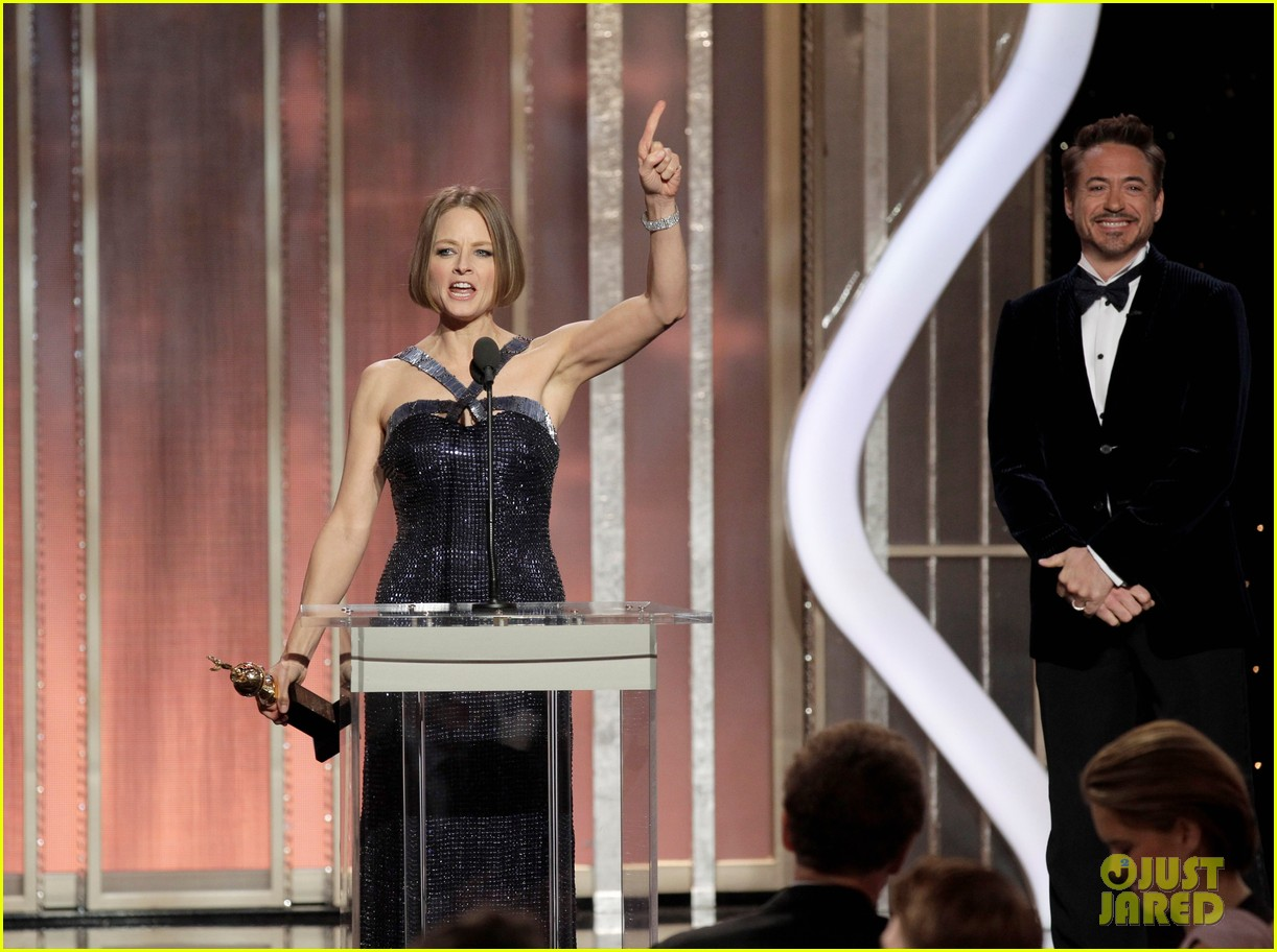 jodie foster coming out speech at golden globes 042791845