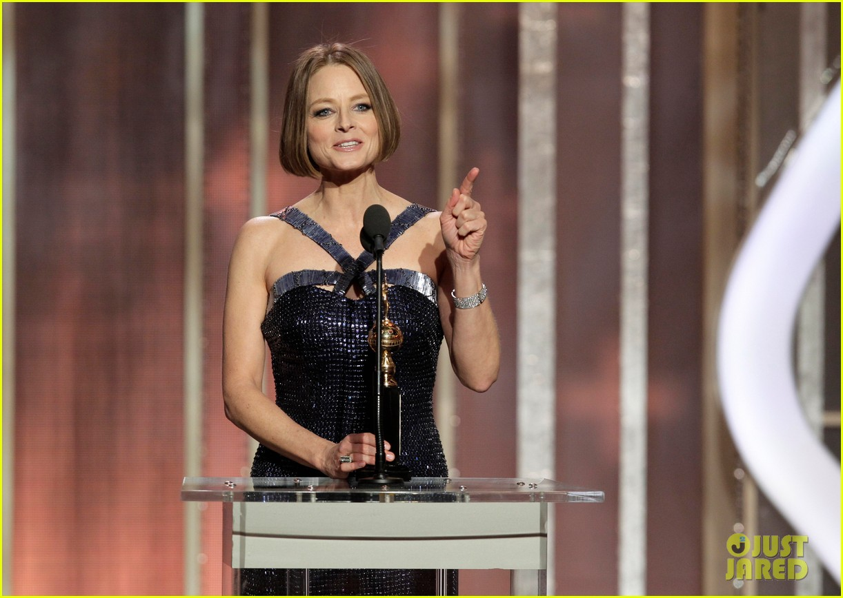 jodie foster coming out speech at golden globes 102791851