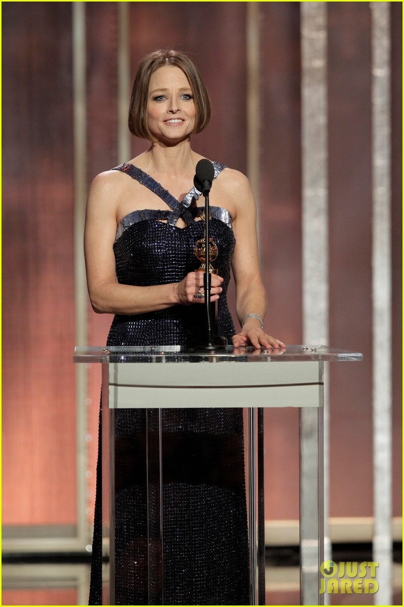 jodie foster coming out speech at golden globes 112791852