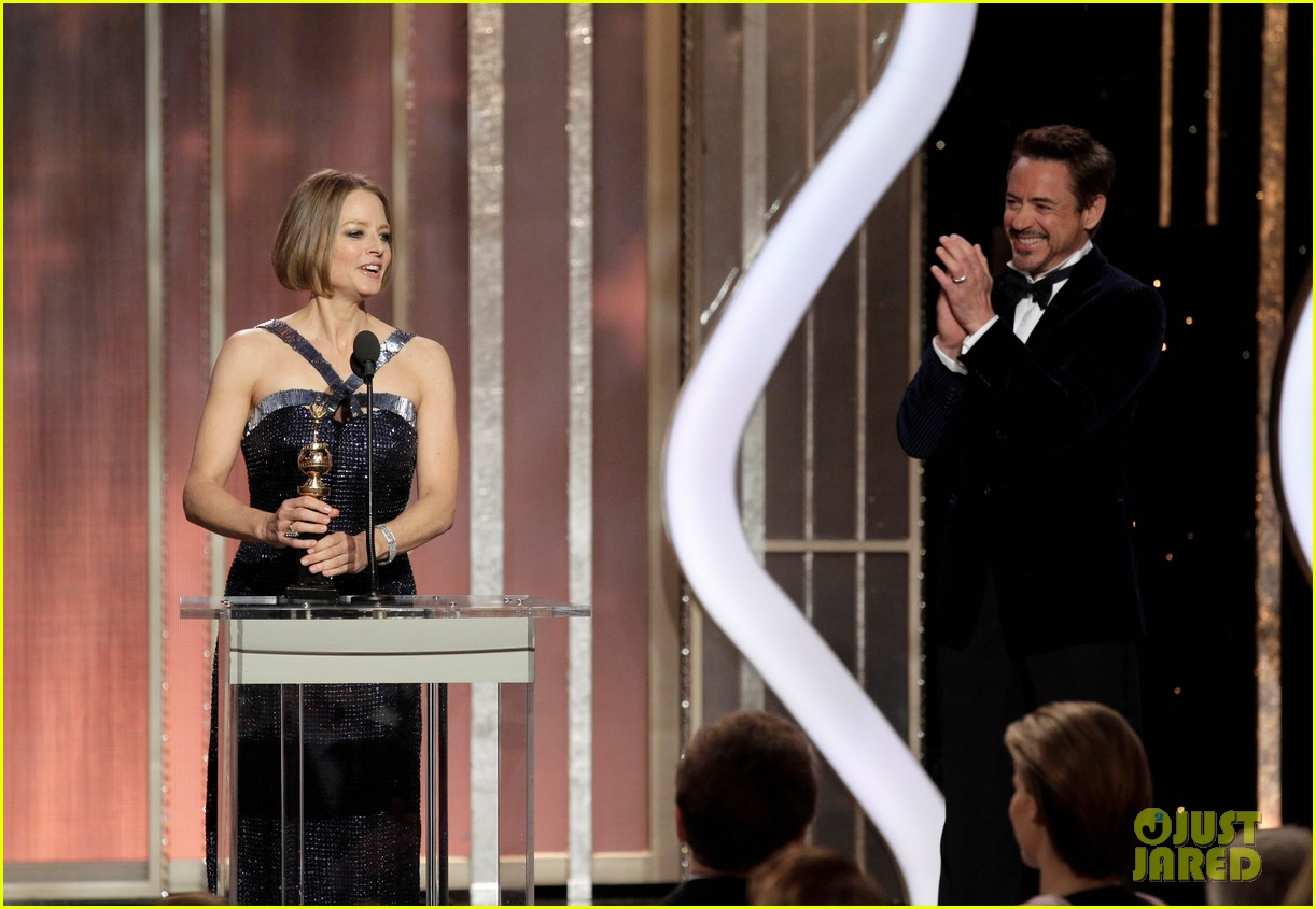 jodie foster coming out speech at golden globes 132791854