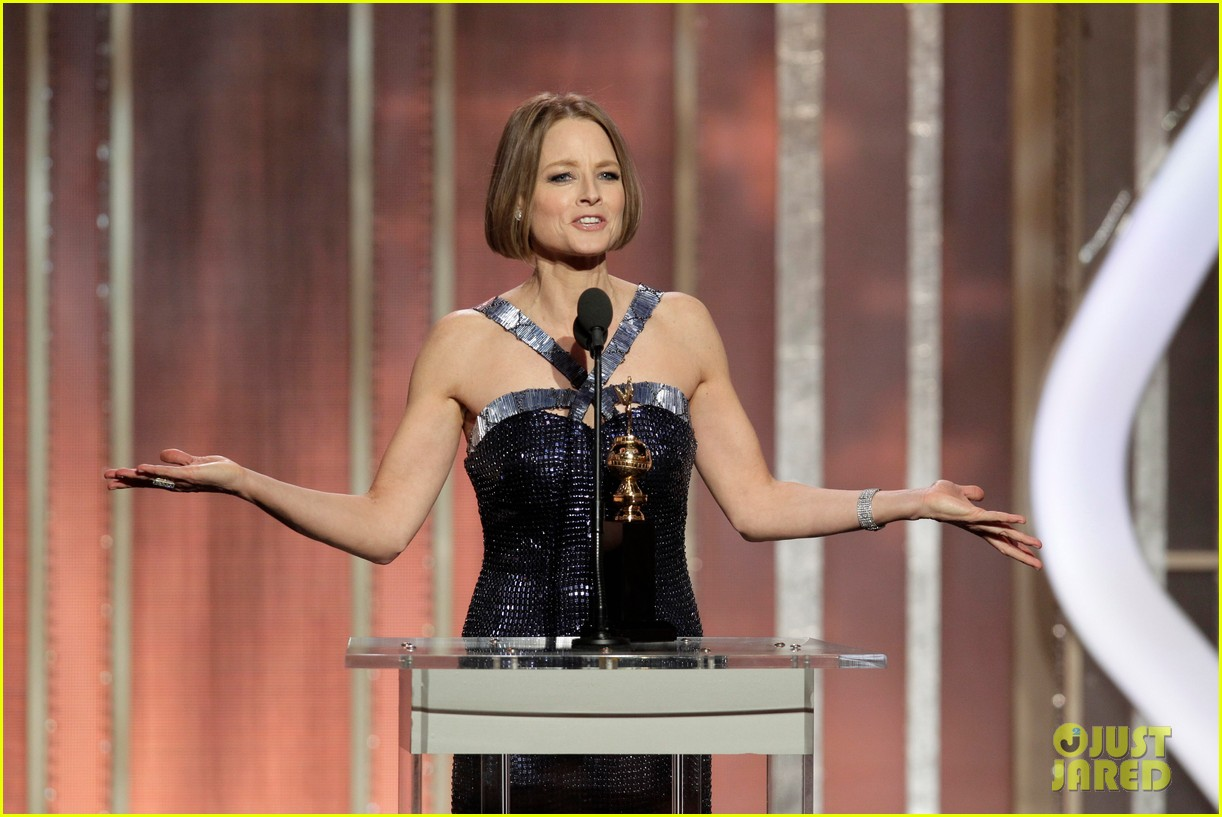 jodie foster coming out speech at golden globes 152791856