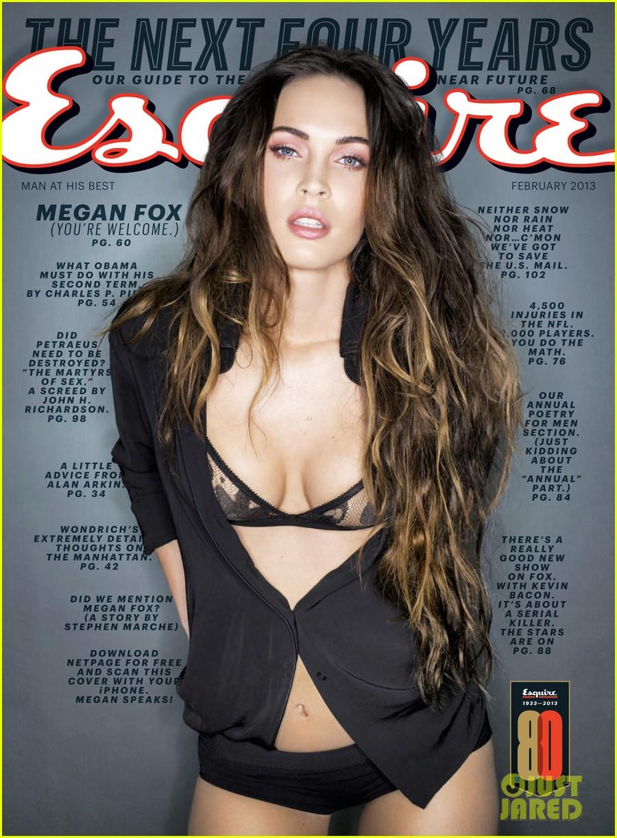 megan fox covers esquire february 2013 052792704