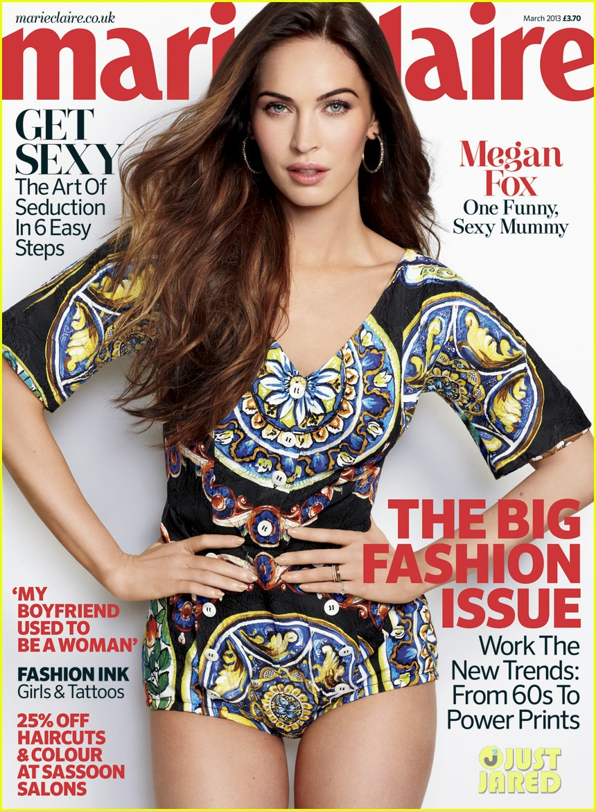 megan fox covers marie claire uk march 2013 032800723