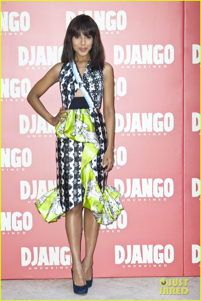 jamie foxx kerry washington django unchained rome photo call 03