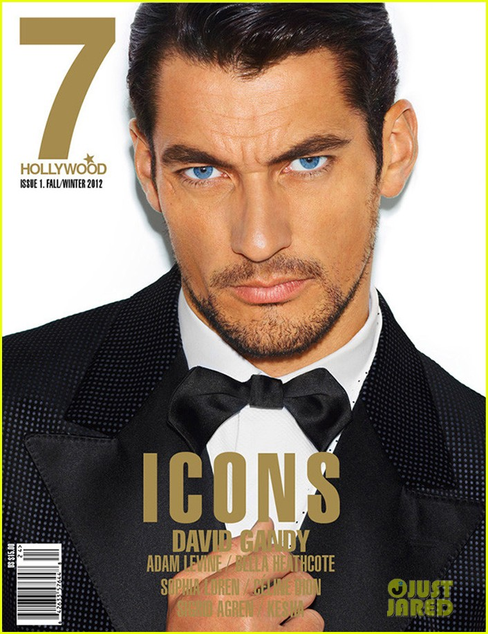 david gandy covers 7 hollywood icons issue 052782887