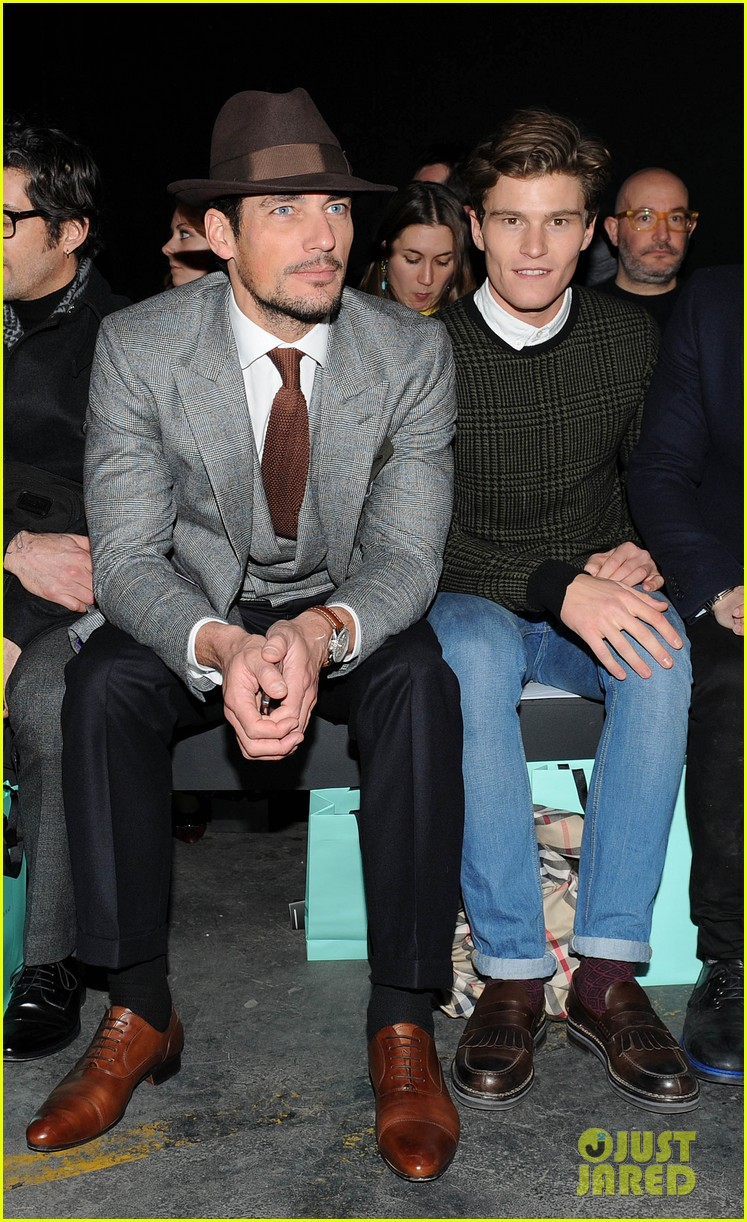 david gandy london collections men shows 10