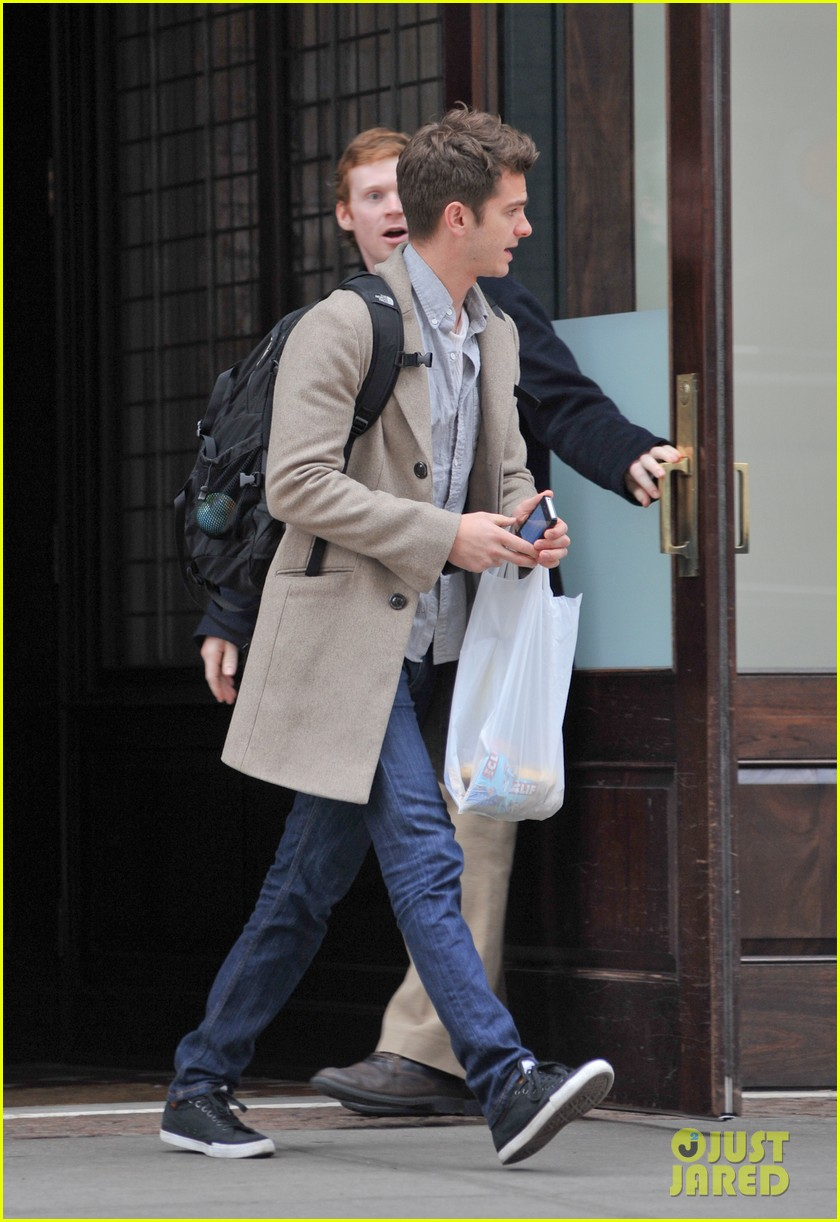 andrew garfield spider man sequel begins filming soon 062787430