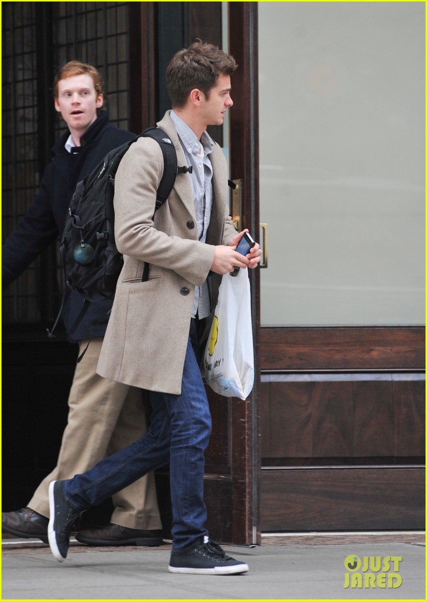 andrew garfield spider man sequel begins filming soon 072787431