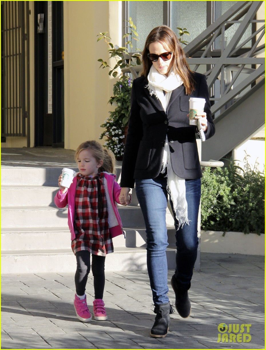 jennifer garner ballet coffee with seraphina 072794030