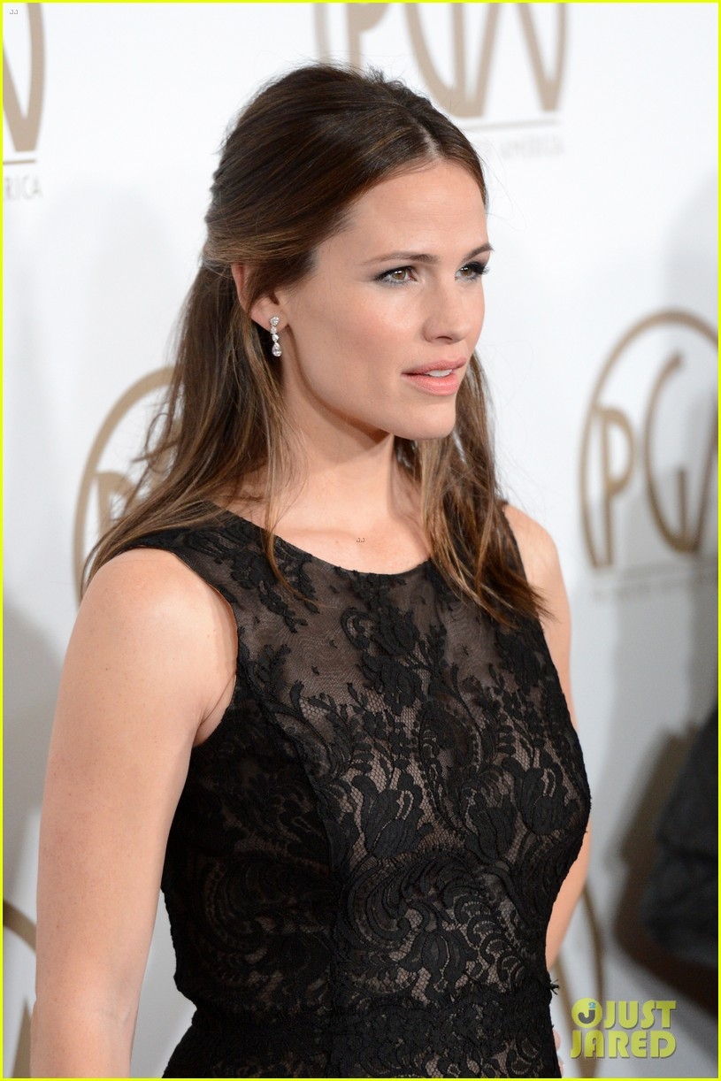 jennifer garner ben affleck pgas carpet 08