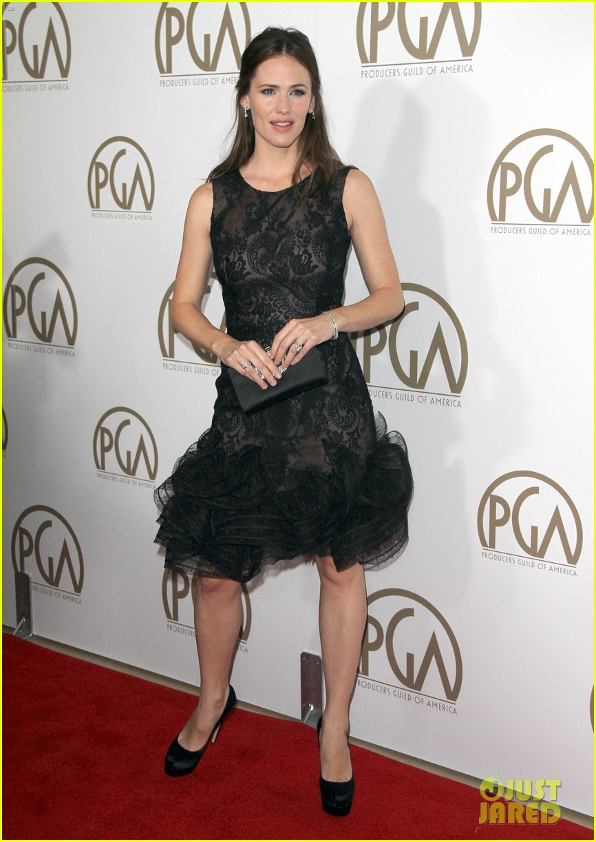 jennifer garner ben affleck pgas carpet 13