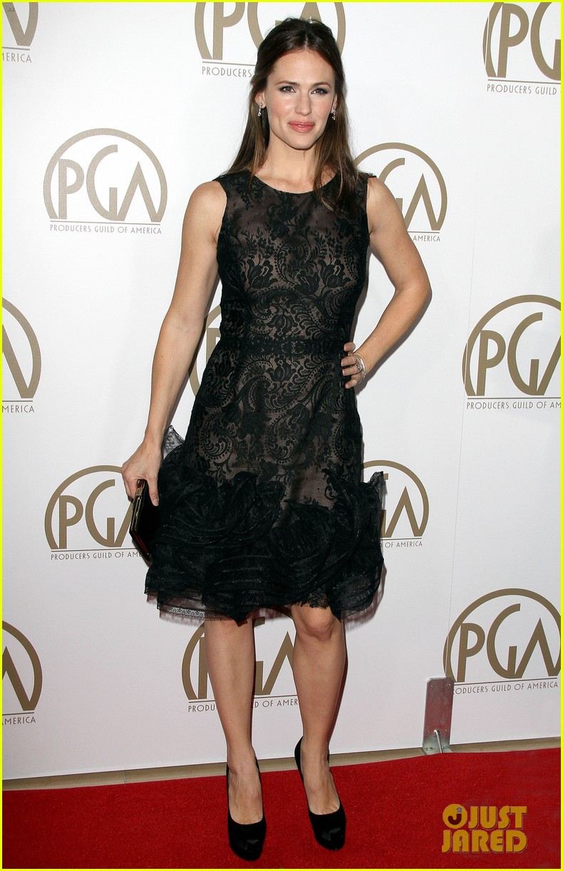 jennifer garner ben affleck pgas carpet 142799205