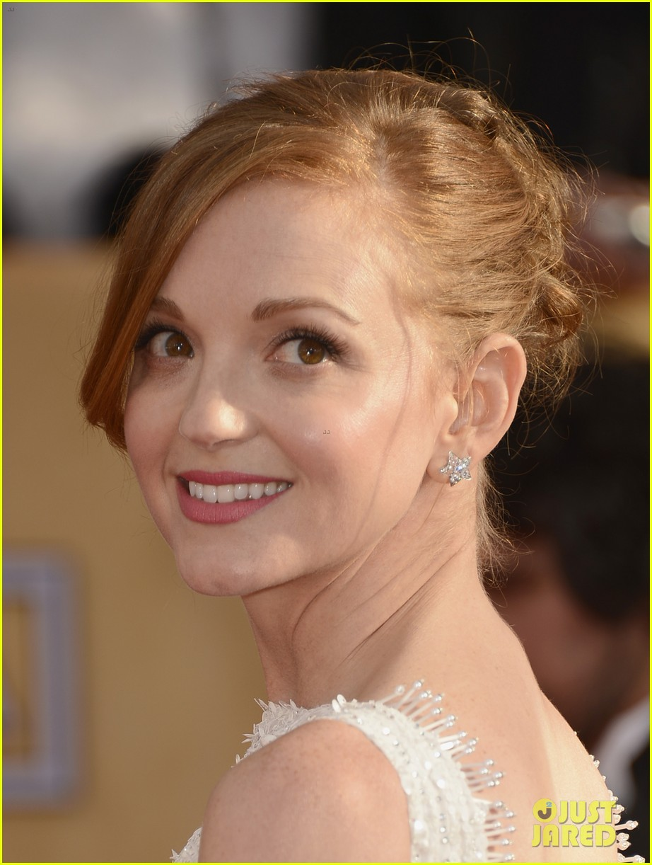 naya rivera jayma mays sag awards carpet 07