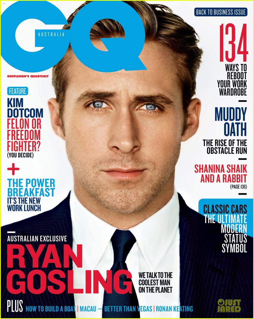 Ryan Gosling Suits \'GQ Australia\' Magazine February 2013: Photo ...