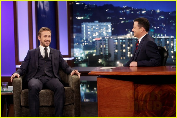 ryan gosling will ferrell knife guys for jimmy kimmel live 052788309