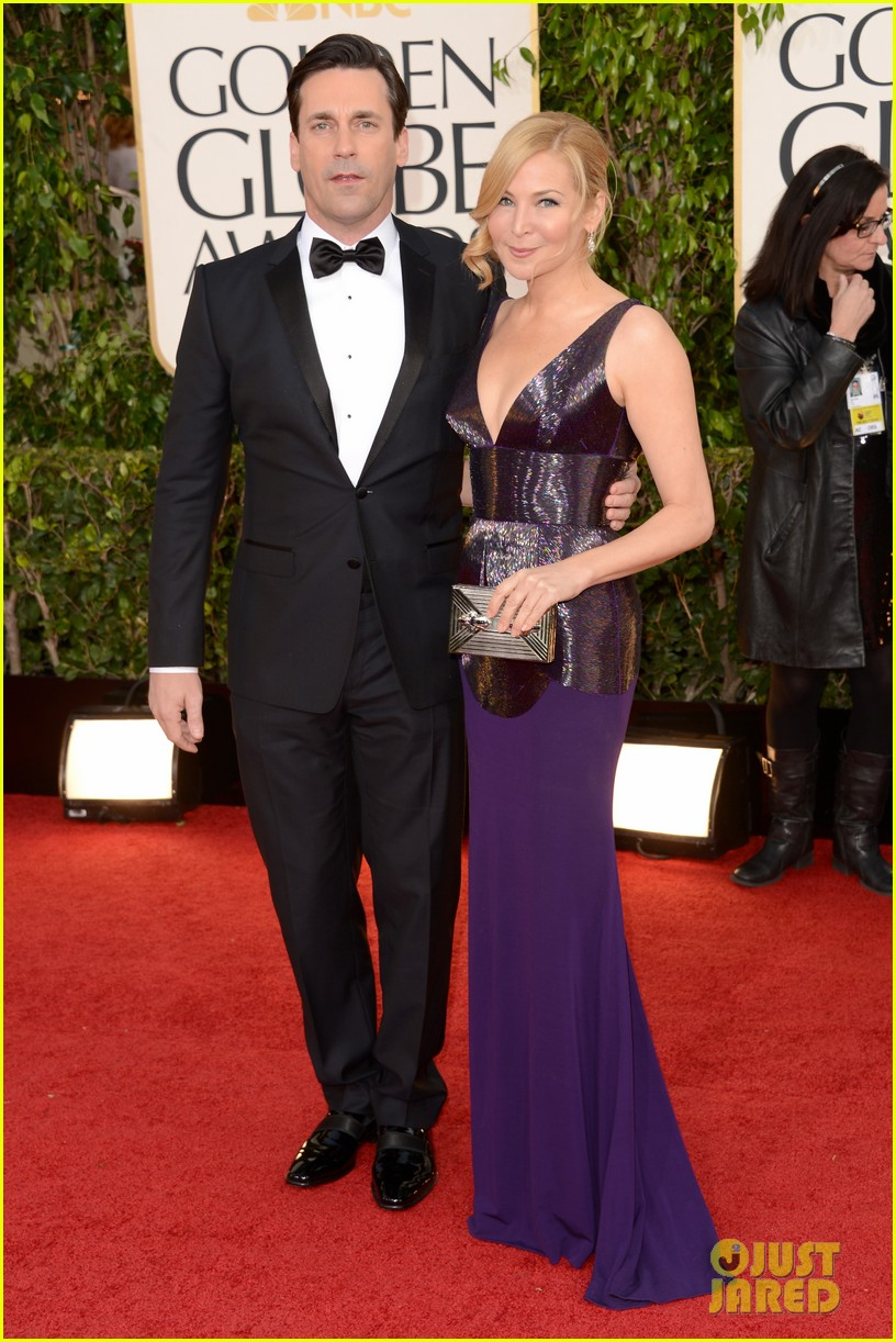 jon hamm golden globes 2013 red carpet 01