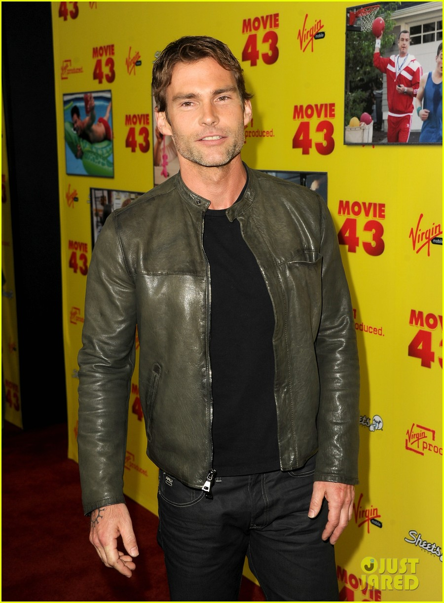 chelsea handler seann william scott movie 43 premiere 09