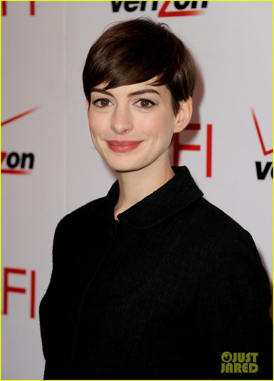 anne hathaway afi awards 2013 red carpet 02