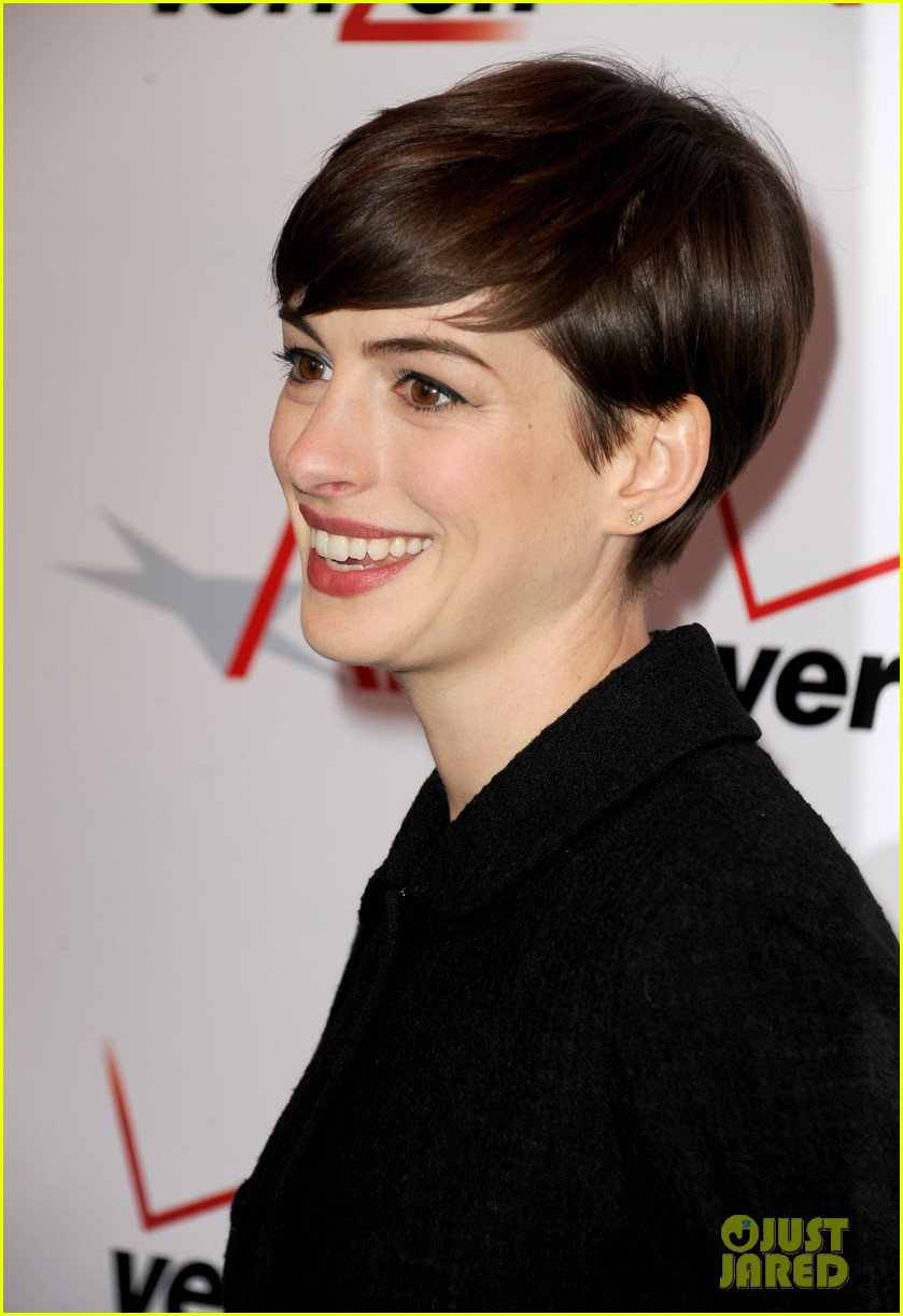 anne hathaway afi awards 2013 red carpet 042789108