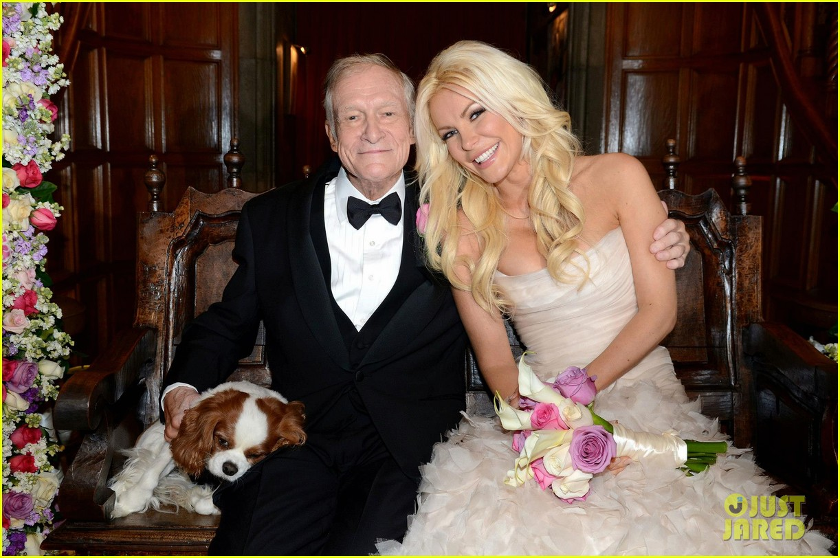 hugh hefner crystal harris wedding pictures revealed 022783195