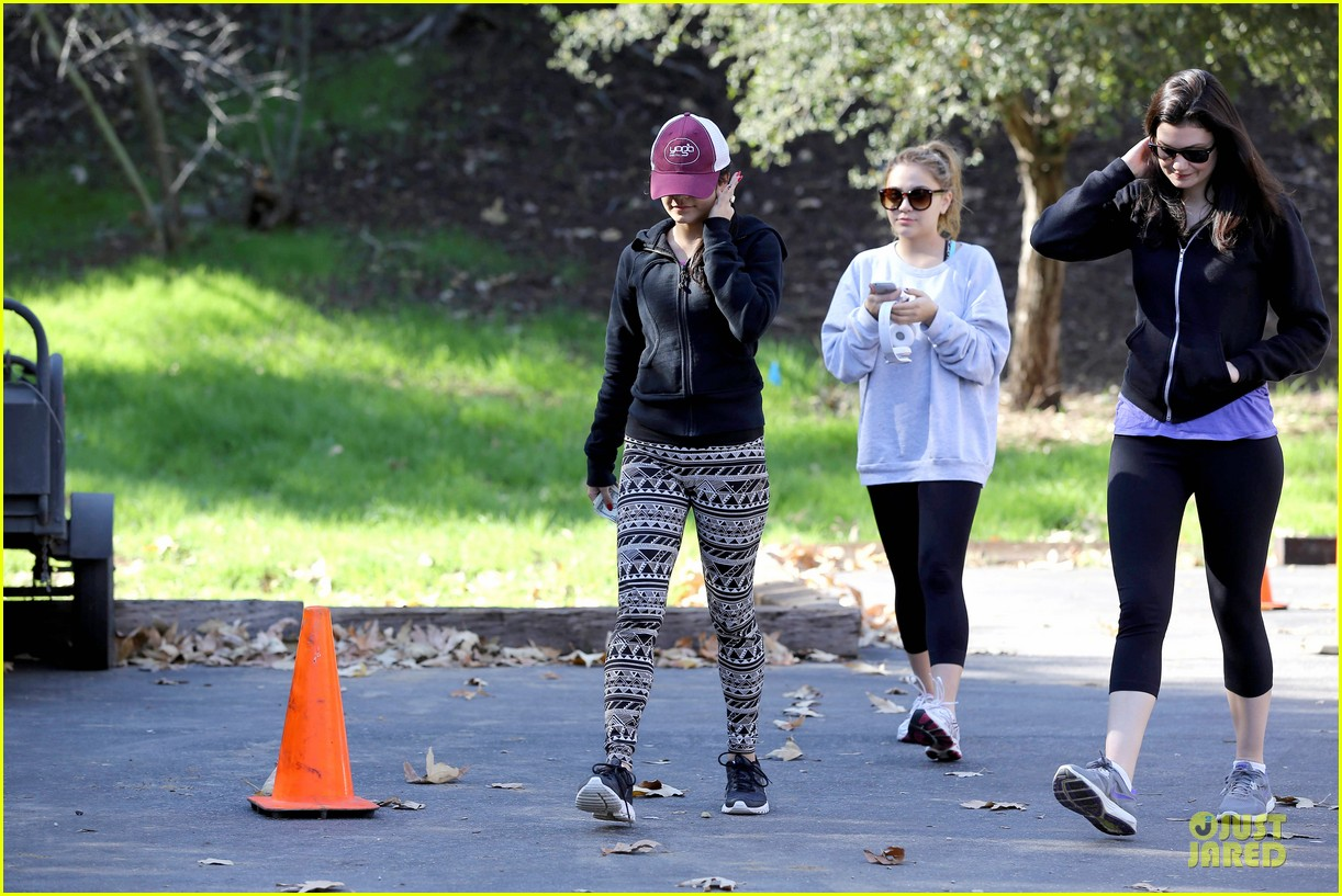 vanessa hudgens studio city hike with stella 092787047