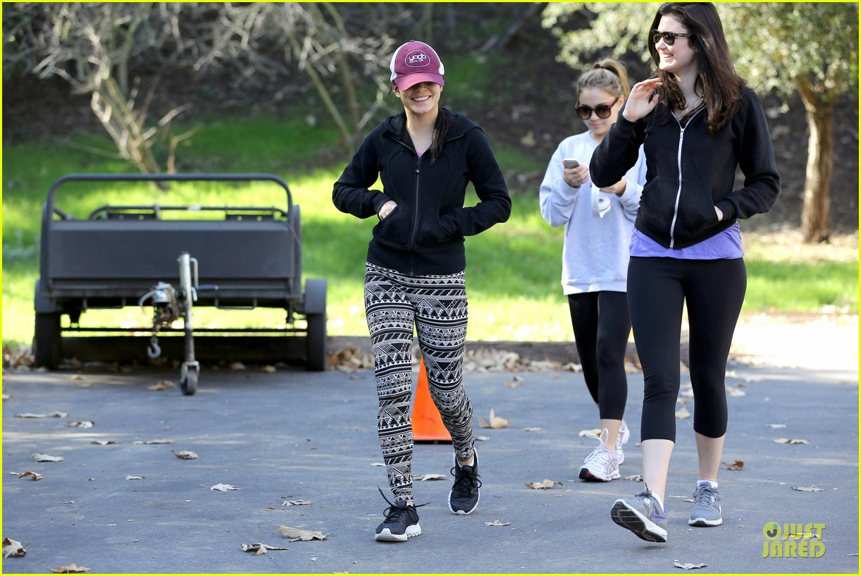vanessa hudgens studio city hike with stella 182787056