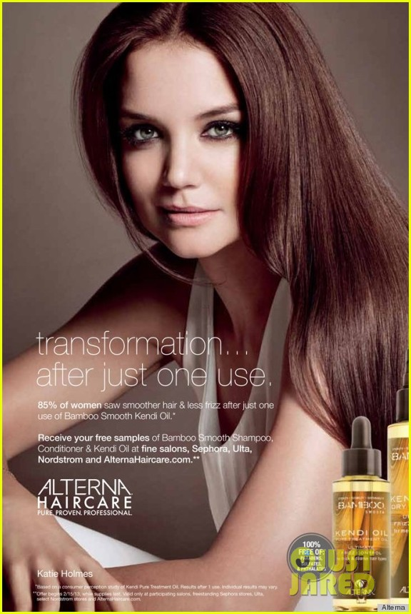 katie holmes alternia hair cares newest face 012794331