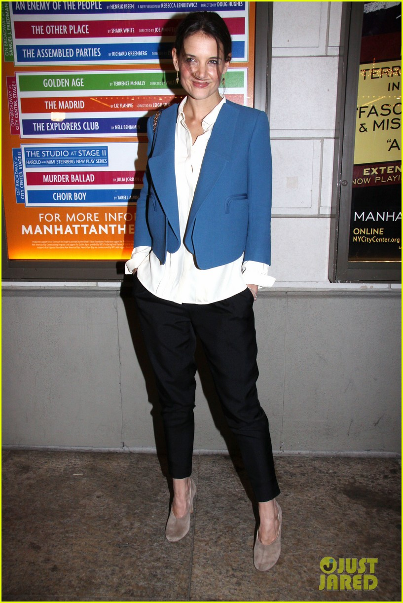 katie holmes the other place broadway opening night 012788954