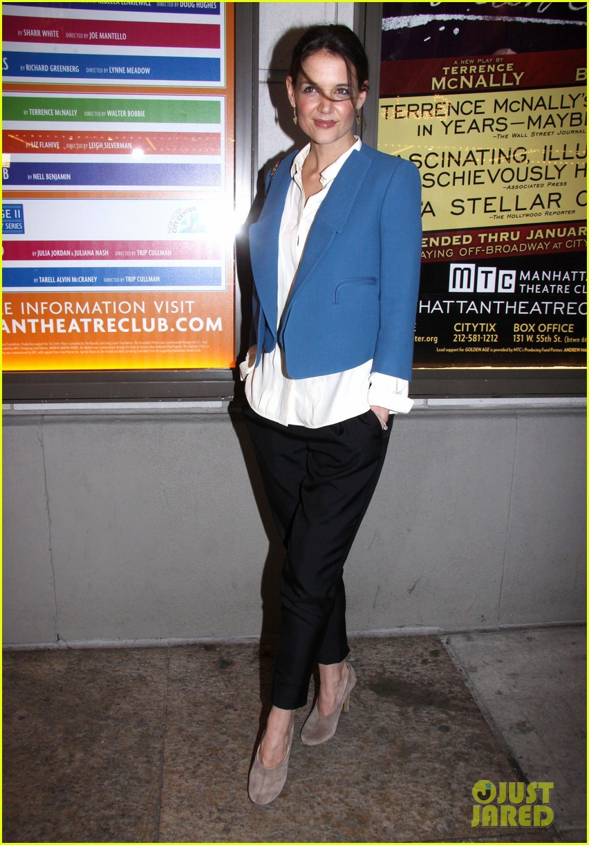 katie holmes the other place broadway opening night 032788956