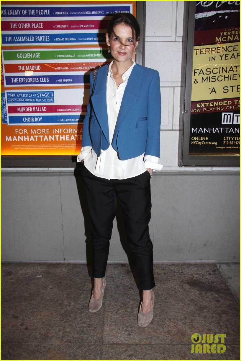 katie holmes the other place broadway opening night 052788958