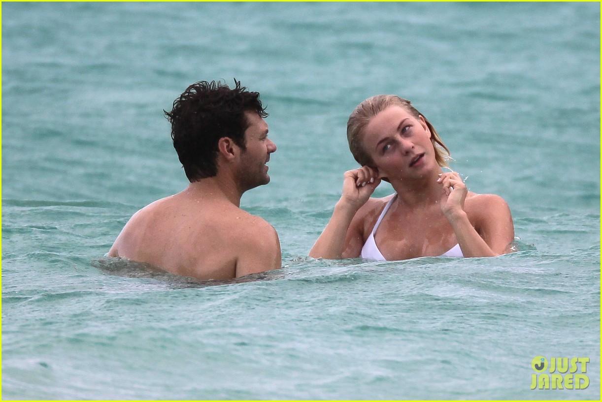julianne hough bikini swimming with shirtless ryan seacrest 272784756