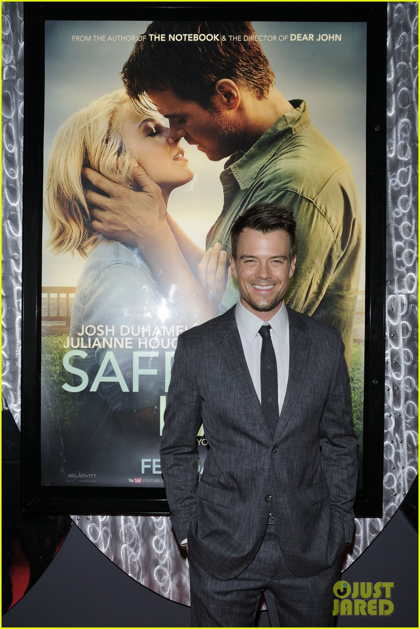 josh duhamel julianne hough safe haven toronto premiere 02