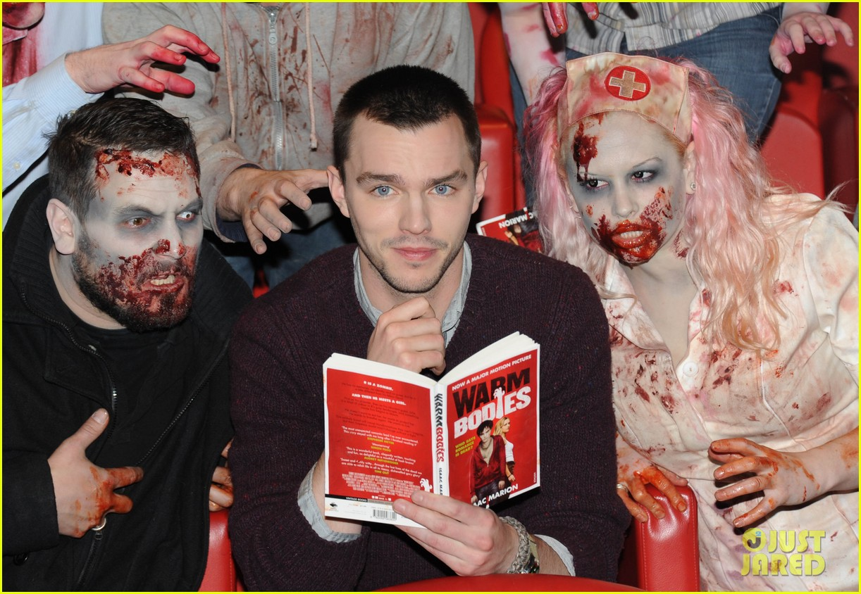 teresa palmer nicholas hoult warm bodies london photo call 102794325