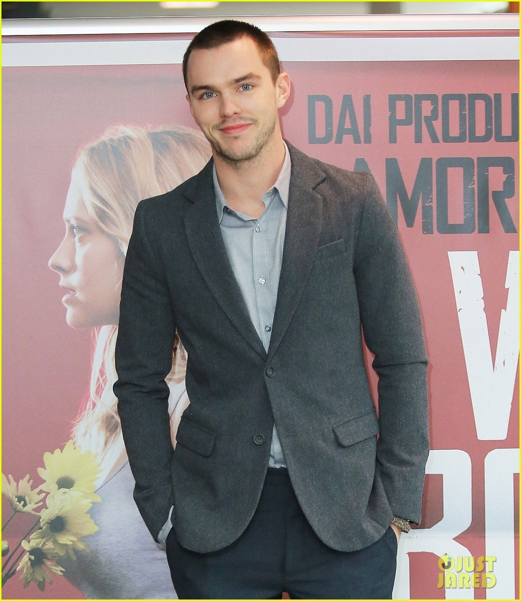 nicholas hoult warm bodies rome photo call 052793351
