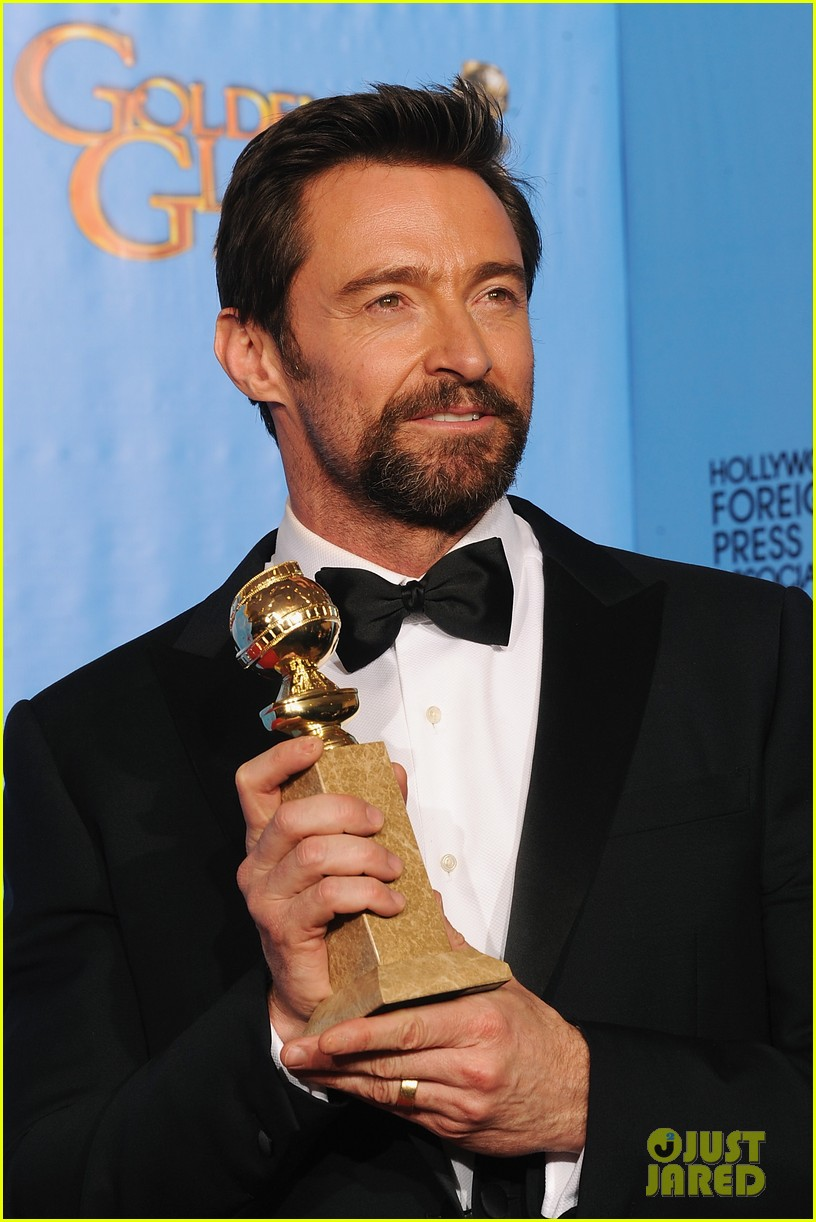 hugh jackman golden globes 2013 red carpet 062791292