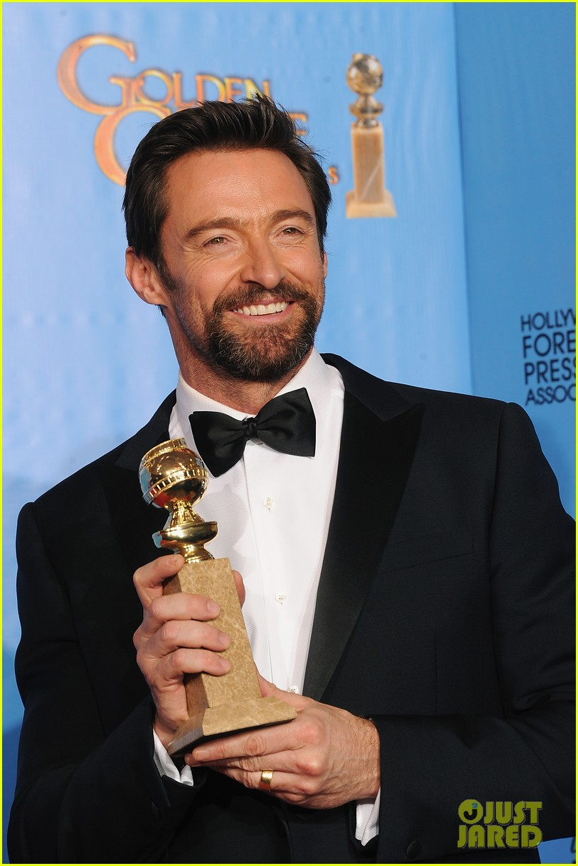 hugh jackman golden globes 2013 red carpet 082791294