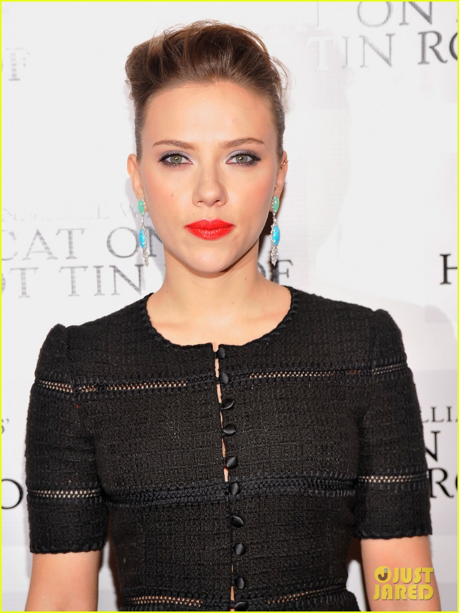 scarlett johansson cat on a hot tin roof opening party 172794077