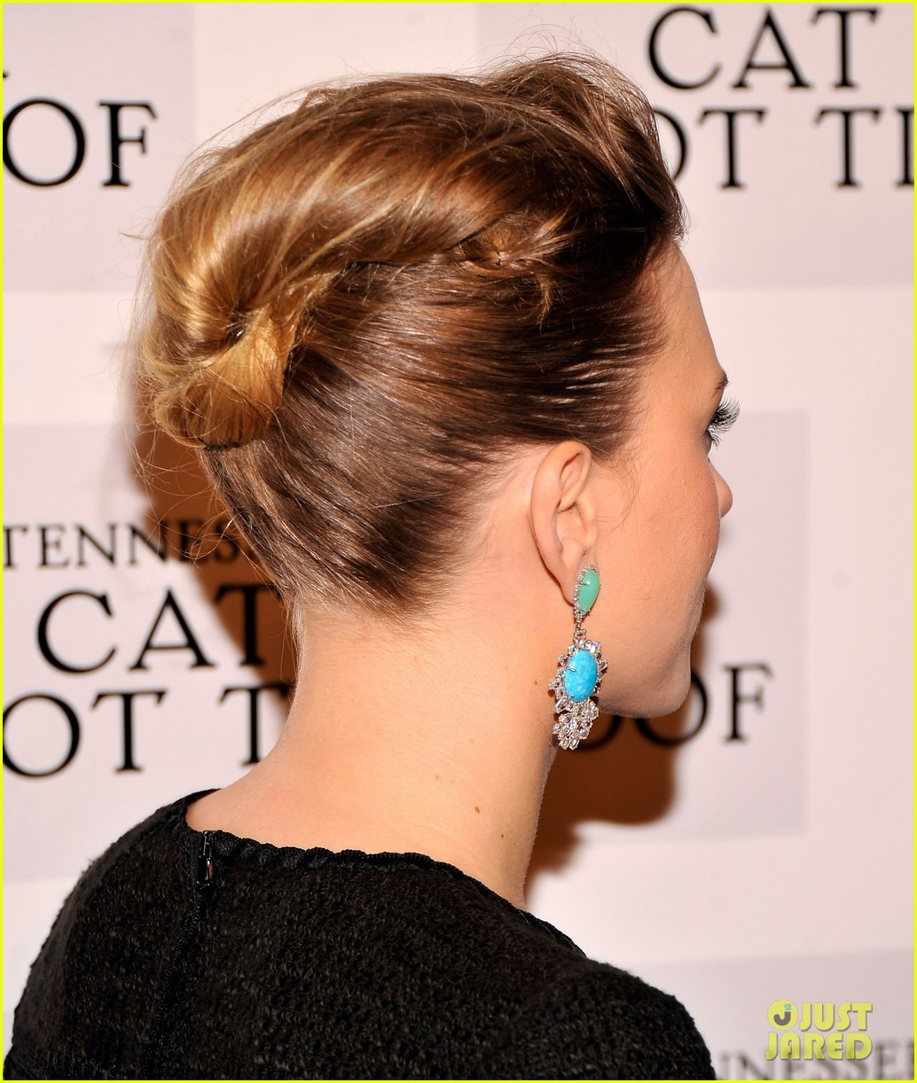 scarlett johansson cat on a hot tin roof opening party 222794082