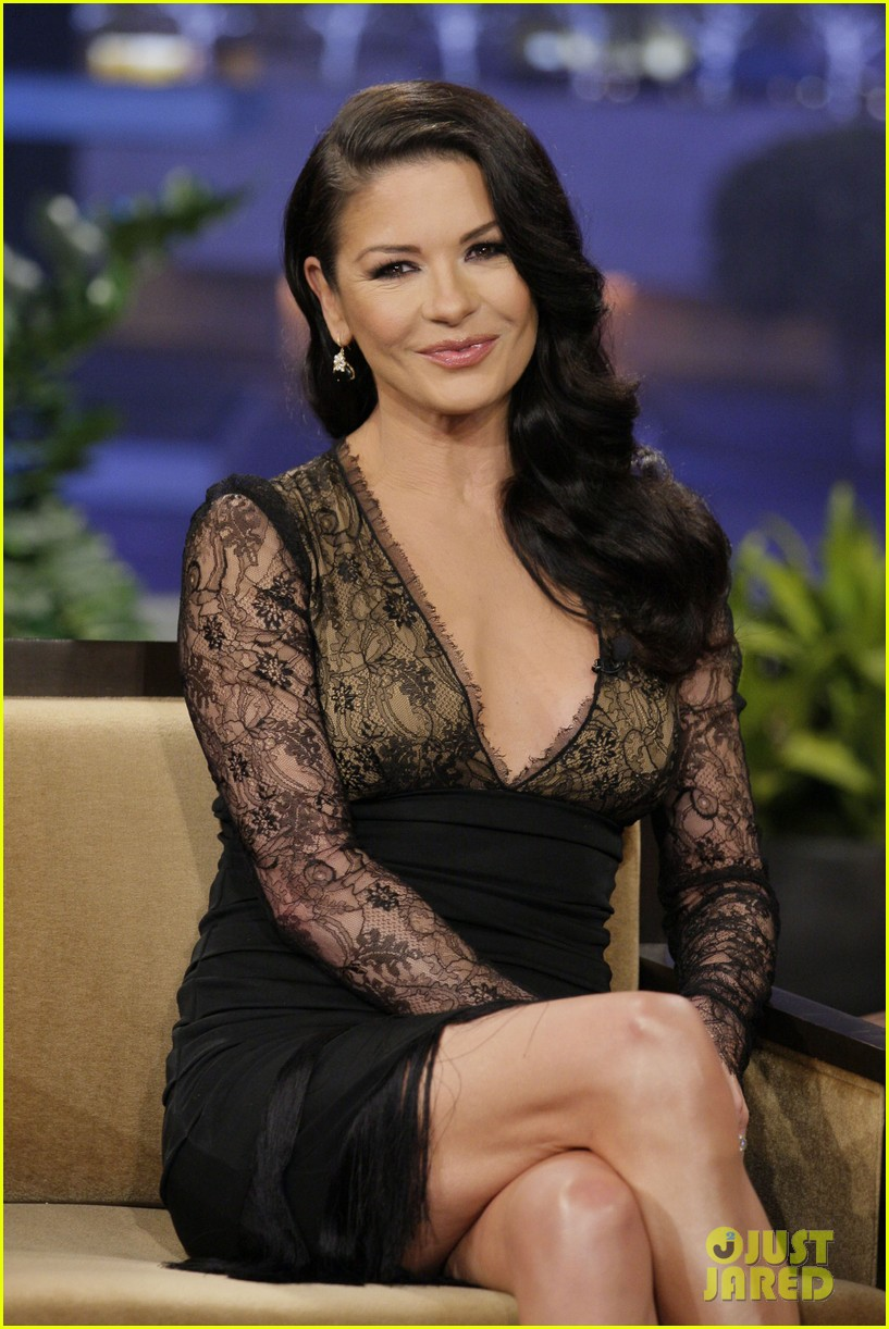 catherine zeta jones tonight show with jay leno visit 032800633