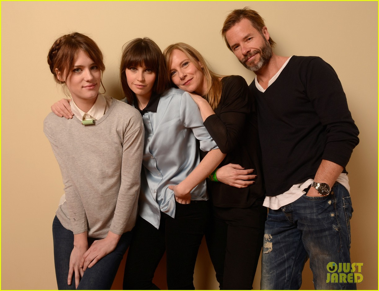 felicity jones guy pearce breathe in at sundance 152795088