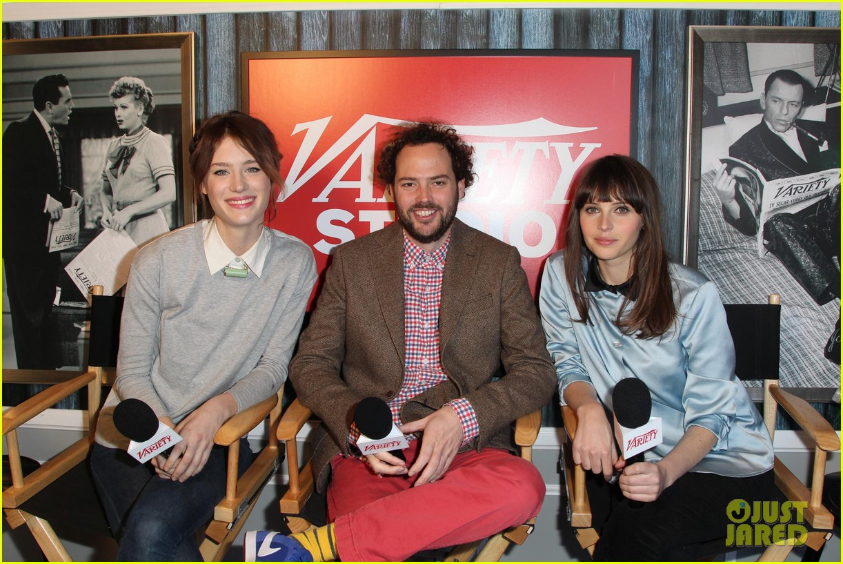 felicity jones guy pearce breathe in at sundance 25