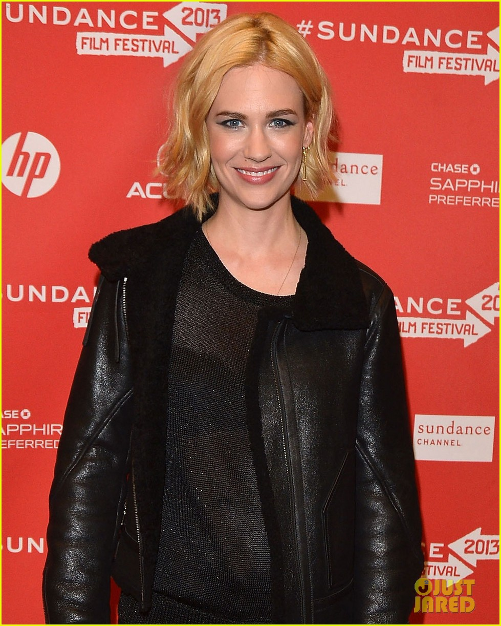 january jones sheer top at sweetwater sundance premiere 042798330
