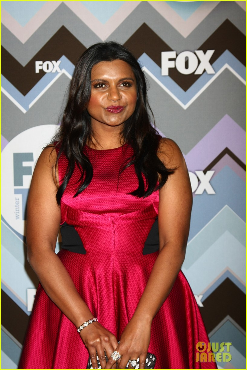mindy kaling zooey deschanel fox tca all star party 192787599